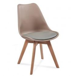 Židle FILA šedá / béžová...