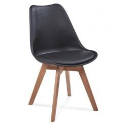 Židle FILA černá (FIO/c/b)