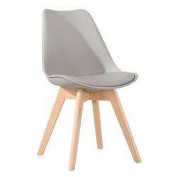 Židle FILA šedá (FIO/sz/b)