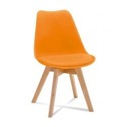 Židle FILA oranžové barvy...