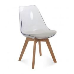Židle FILA transparentní...