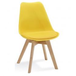 Židle FILA žlutá barva...