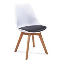 Židle FILA černé a bílé...