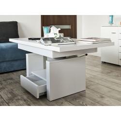 LEXUS bílý, konferenční stolek